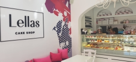 Lellas Cake Shop launches it's first store